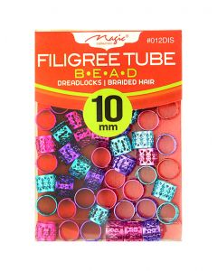 Magic Filigree Braid/Dread Tube 10M - Assorted