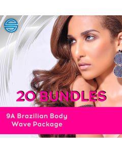20 Bundle 9A Body Wave Pack - Wholesale