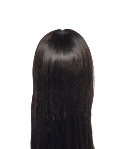"""Natural Straight 12A 20"""" Lace Wig"""
