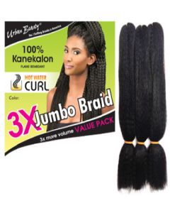 Urban Beauty 3X Jumbo Kanekalon Braid Hair