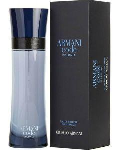 Armani Code Colonia 4.2 Oz/ 125 Ml