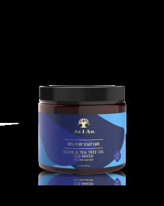 As I Am Olive & Tea Tree Oil Co-Wash 16 oz.