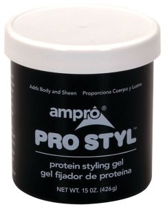 Ampro Protein Styling Gel Regular Hold 15 oz.