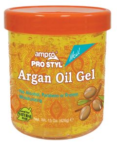 Ampro Argan Oil Styling Gel 8 oz.