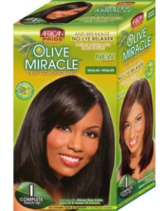African Pride No-Lye Kit Touch 1 Applications - Regular