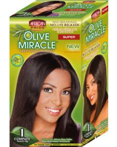 African Pride No-Lye Kit Touch 1 Applications - Super