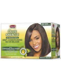 Olive Miracle Deep Conditioning Regular Kit - Regular