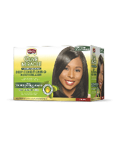African Pride Deep Conditioning No-Lye Relaxer Kit - Super
