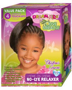 African Pride Dream Kids No Lye Kit 4 Applications - Super