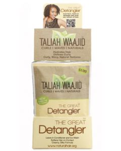 Taliah Waajid Curls, Waves, & Naturals Great Detangler 12 Piece Display
