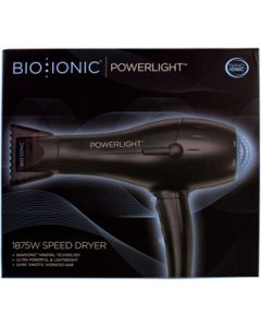 Bioionic Dryer Powerlight Black