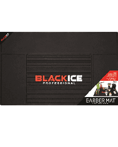 Black Ice Professional Barber Mat Medium