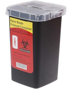 Black Ice Sharps Disposable Container