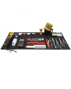Black Ice Professional Barber Mat Large