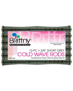 """Brittny Rod Cold Wave Short-Green 12Ct - 0.375"""""""