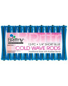 """Brittny Rod Cold Wave Short-Blue 12Ct - 0.25"""""""