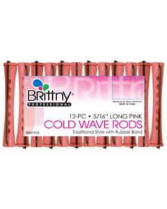 """Brittny Rod Cold Wave Long-Pink 12Ct - 0.3125"""""""