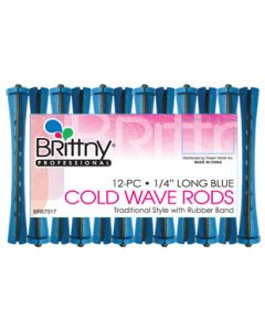 """Brittny Rod Cold Wave Long-Blue 12Ct - 0.25"""""""