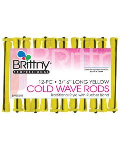 """Brittny Rod Cold Wave Long-Yellow 12Ct - 0.1875"""""""