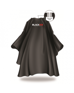 Black Ice Original Barber Cape - Black