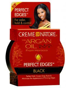 Crème Of Nature Argan Oil Perfect Edges Black