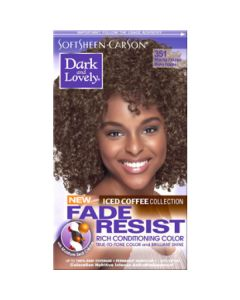 Dark & Lovely Hair Color Fade Resistant 351 Mocha Frappacino