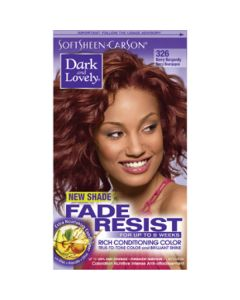 Dark & Lovely Hair Color Fade Resistant 326 Berry Burgundy