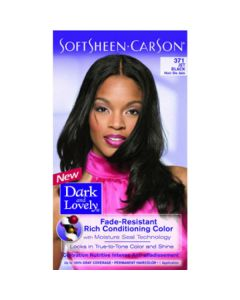 Dark & Lovely Hair Color Fade Resistant 371 Jet Black