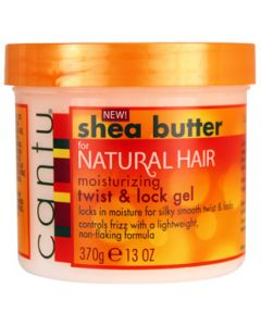 Cantu Shea Butter Natural Twist & Lock Gel 13 oz.