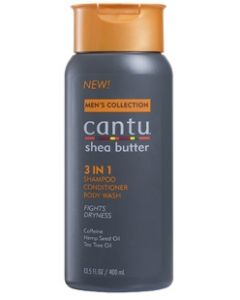 Cantu Men 3N1 Shmp/Cond/Wash 13.5 oz.