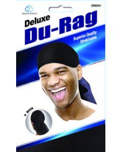 Dream Men's-Durag Deluxe Black