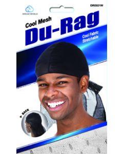 Dream Men's-Cool Mesh Durag White