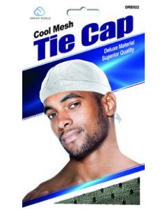 Dream Men's-Cool Mesh Tie Cap Black
