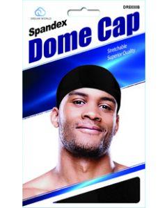 Dream Men's-Dome Cap Spandex Black