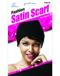 Dream Women's-Satin Scarf Black