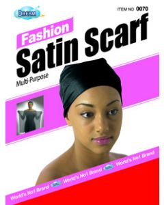 Dream Women's-Satin Scarf Red