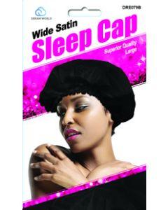 Dream Women's-Satin Sleep Cap Large Black