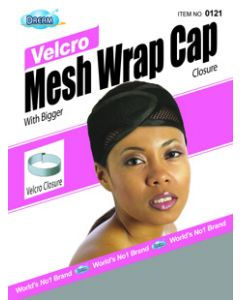 Dream Women's-Mesh Wrap Cap Velcro Grey