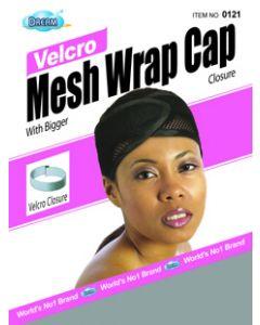 Dream Women's-Mesh Wrap Cap Velcro Grey