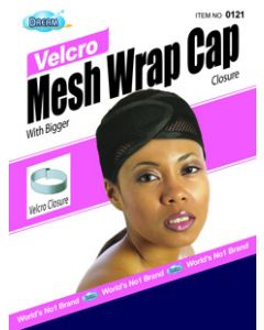 Dream Women's-Mesh Wrap Cap Velcro Navy