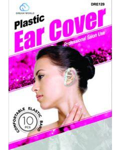 Dream Women's-Plastic Ear Cover 10Pc Clear