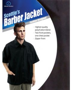 Dream S/W-Barber Jacket Black (Xxl)