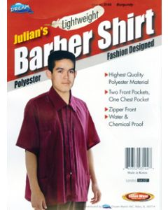 Dream S/W-Barber Shirt Burgundy - Xl