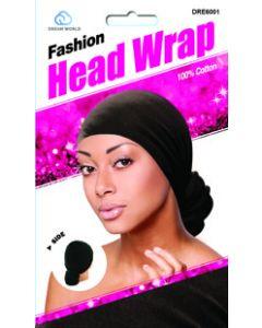 Dream Women's-Head Wrap Black