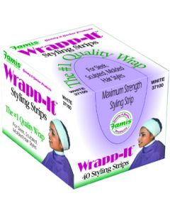 Wrapp-It Styling Strips - White (40 Strip Box)