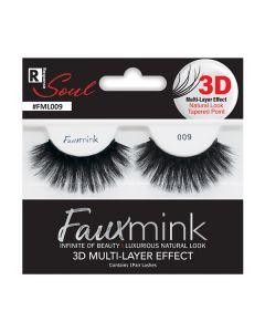 Soul Faux Mink 3D Lashes 009