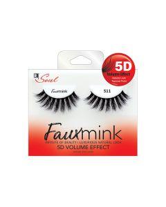 Soul Faux Mink 5D Lashes 511