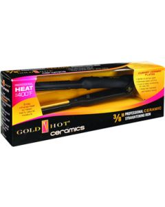 Gold N Hot Flat Iron Ceramic 3/8""