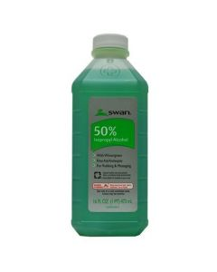 Swan Alcohol 50% Green Lanolin 16oz.