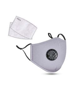 Cloth Face Mask W/Respirator